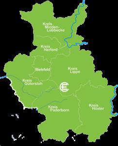 Karte Berlebeck