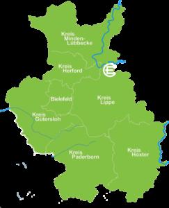 Karte Langenholzhausen
