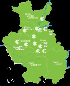 Karte Alle Orte